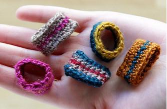 7 блестящих идей по использованию остатков пряжи...