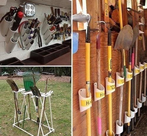 Пластиковые трубы на даче: удачные идеи на все случаи жизни...