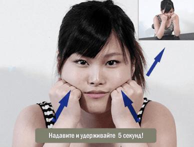 Техника Коруги поднимает щеки, устраняет отеки и провисания! Красота и здоровье в домашних условиях