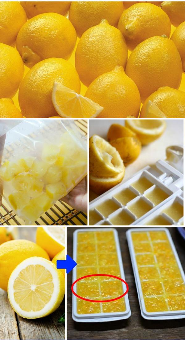 После увиденного вы будете всегда замораживать лимоны!
