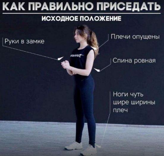 Лечебная гимнастика: приседания для тренировки сосудов
