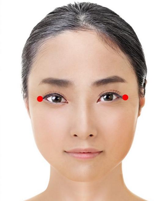 Японский метод омоложения: Точки молодости и энергии на вашем лице