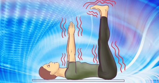 Поза спящих конечностей: минутная гимнастика перед отходом ко сну