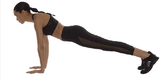 15-минутная тренировка для всего тела, чтобы держать себя минимально в форме...