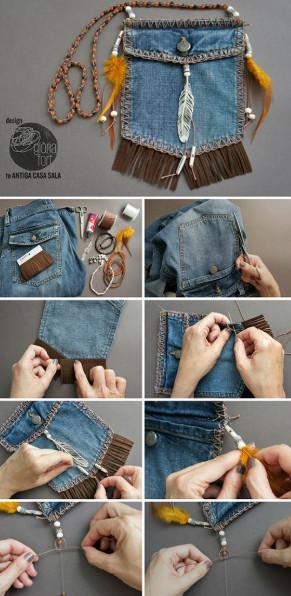 Хоть бери и никогда не выбрасывай старые джинсы…
