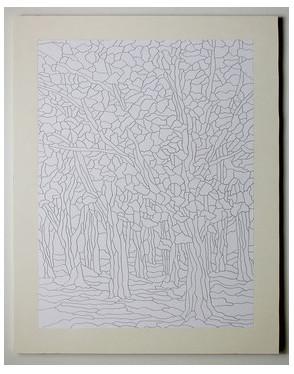 «Осенний лес»: картина в технике пэчворк без иглы...