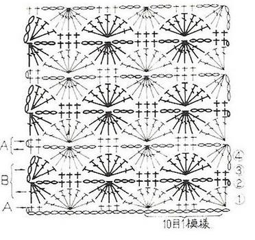 Очень много схем для вязания крючком: вместительная и удобная сумка из квадратных мотивов...