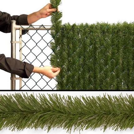 Диковинный декор сетки-рабицы простыми материалами...
