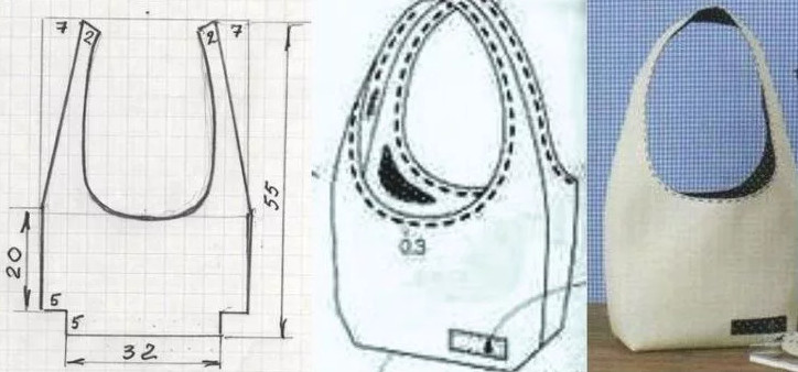 Простые, но оригинальные выкройки сумок: в копилку рукодельницам…