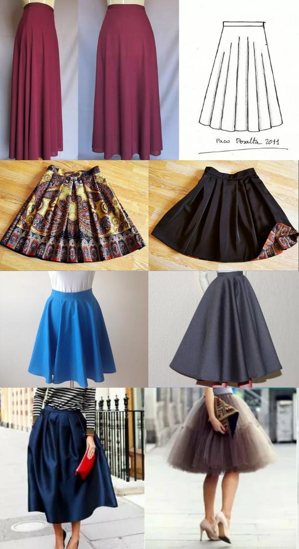 Как сшить юбку?