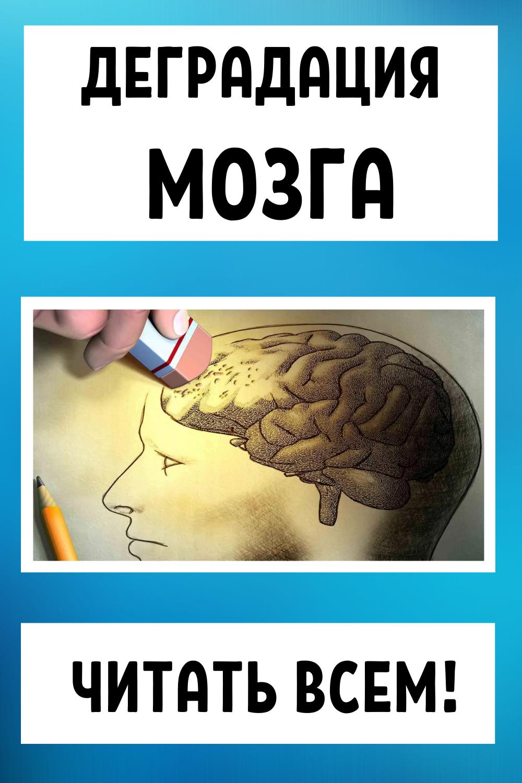 Деградация мозга — читать всем!
