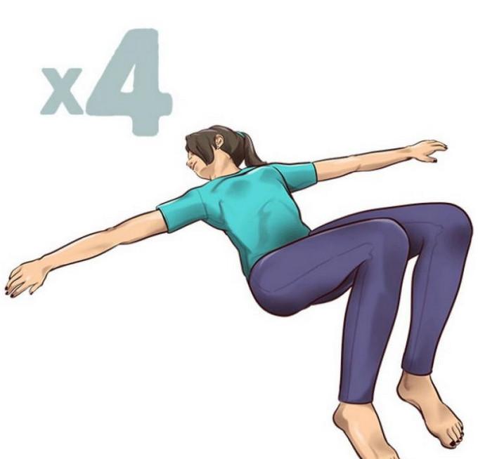 5-минутные упражнения на растяжку, которые спасут вас от боли в спине